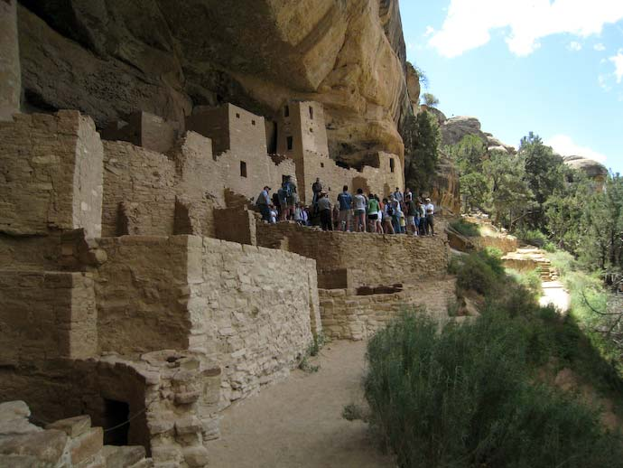 Cliff Palace ground level
