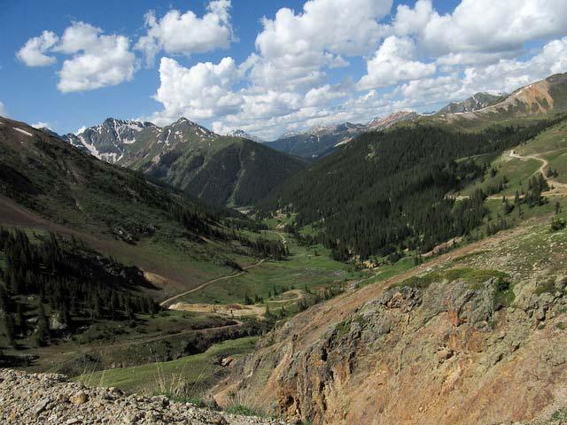 verdant valley view